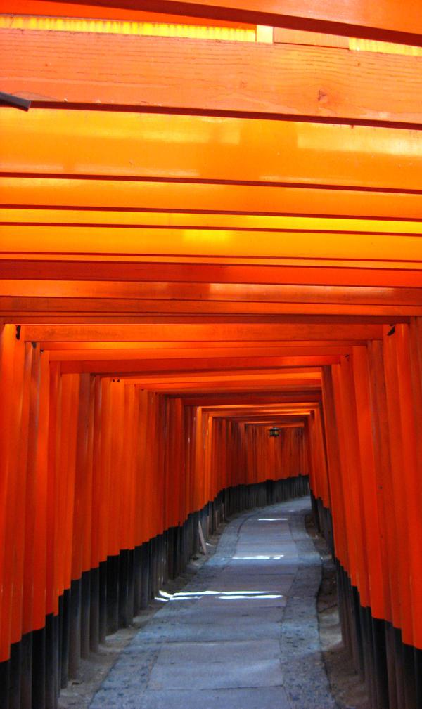 Fushimia Inari - Tori by cycladic