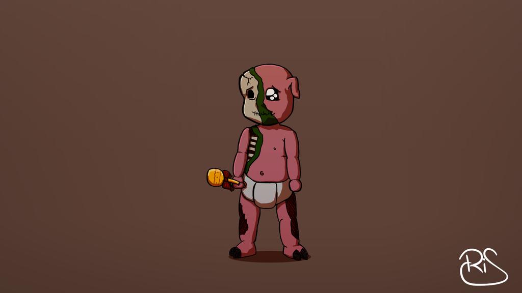 how to get a baby zombie pigmen in minecraft