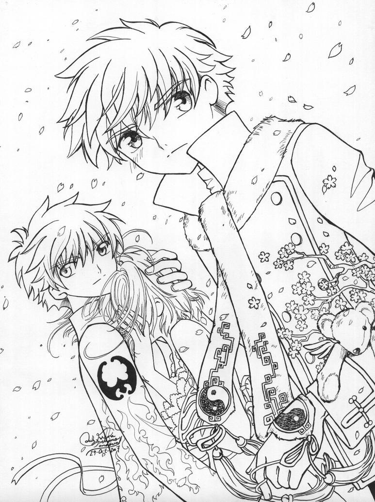 coloring pages tsubasa-#14