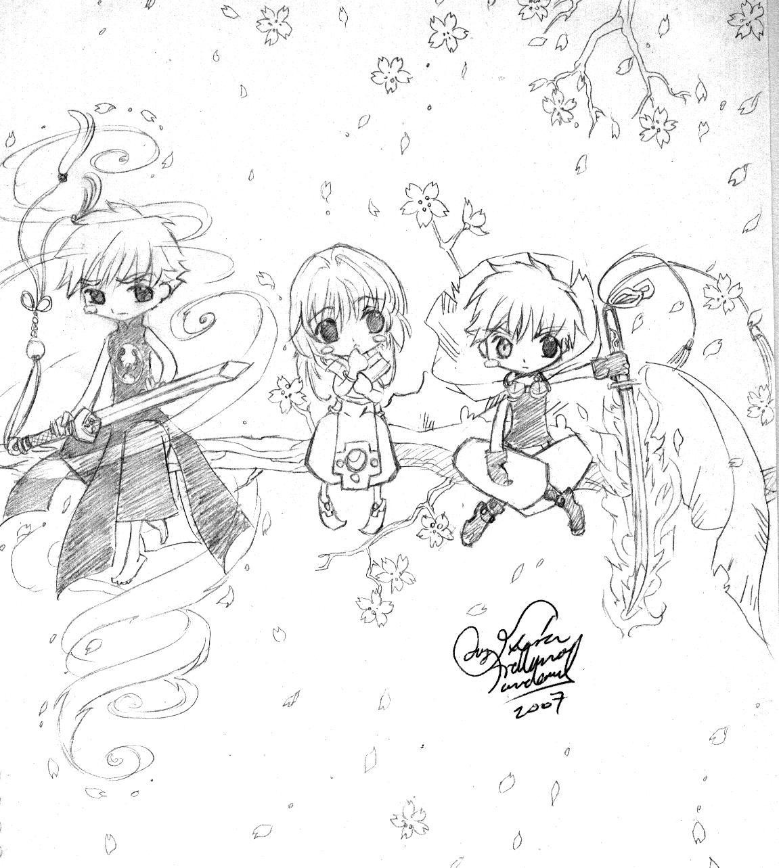 ChibiSyaoOr-SakC-SyaoC by LucyMeryChan