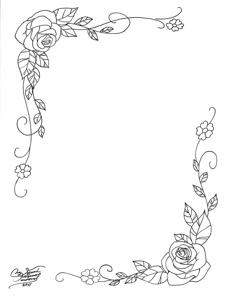 marco de rosas by LucyMeryChan on DeviantArt
