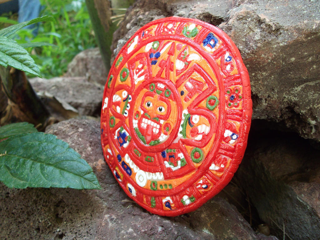 Calendario Azteca by LucyMeryChan