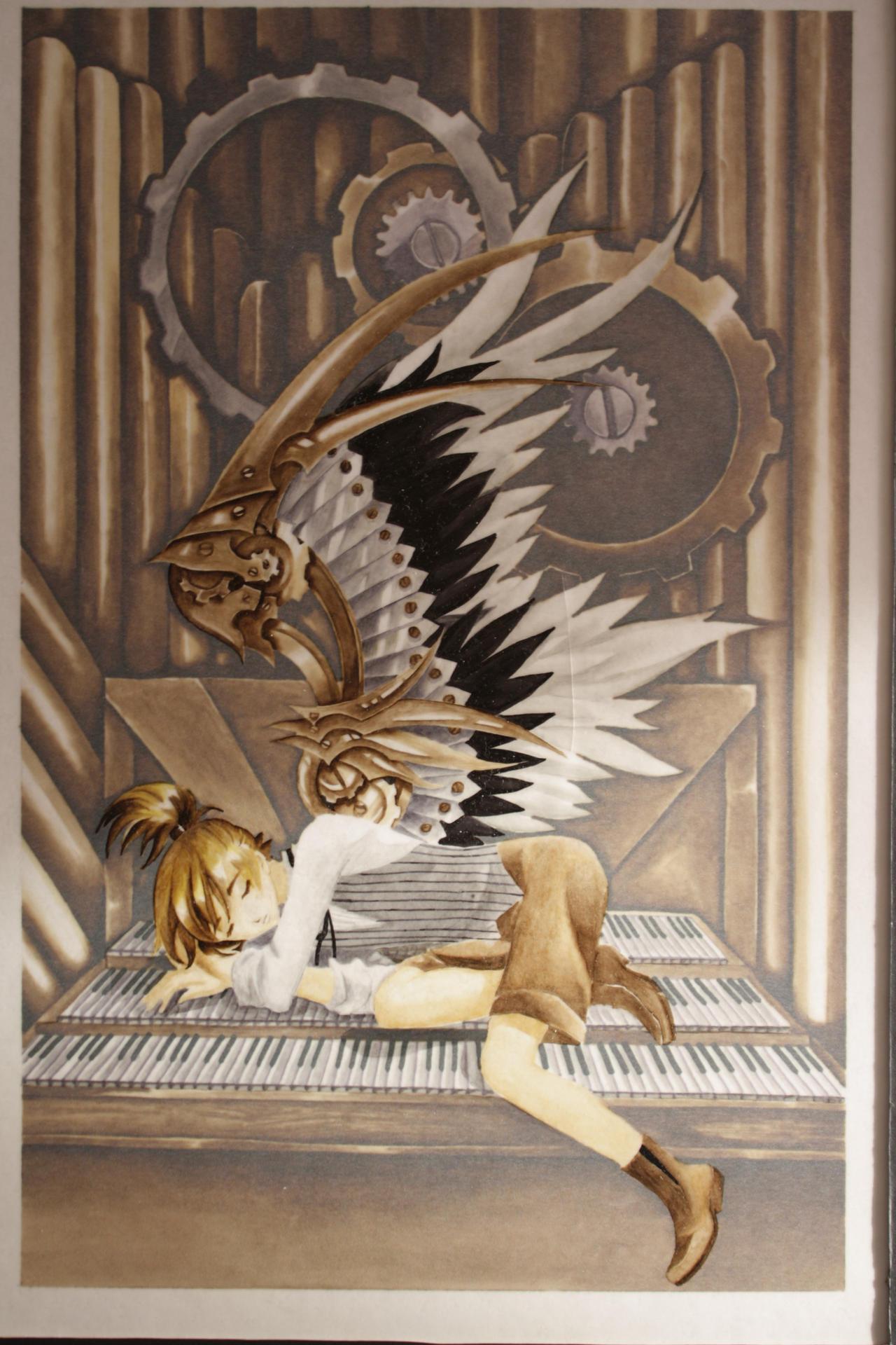Dziu organ II by LucyMeryChan