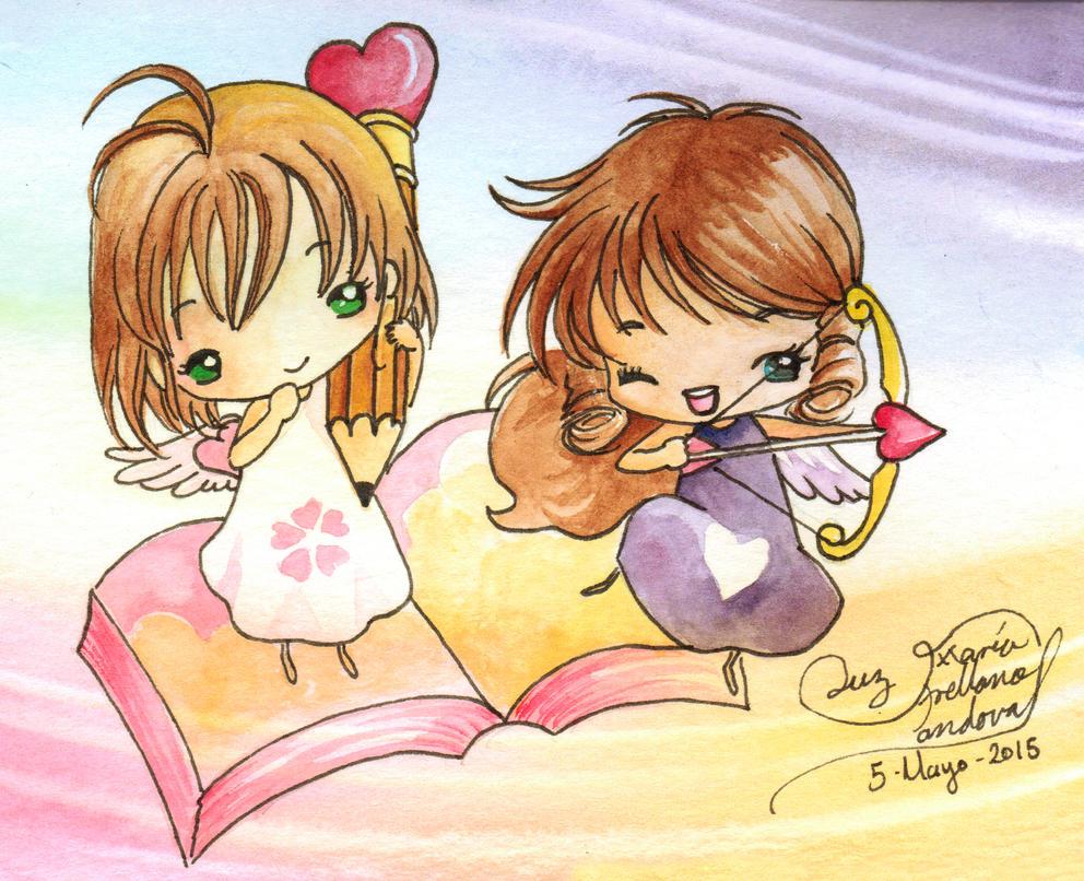 Sakura y Hikaru Moskitas by LucyMeryChan
