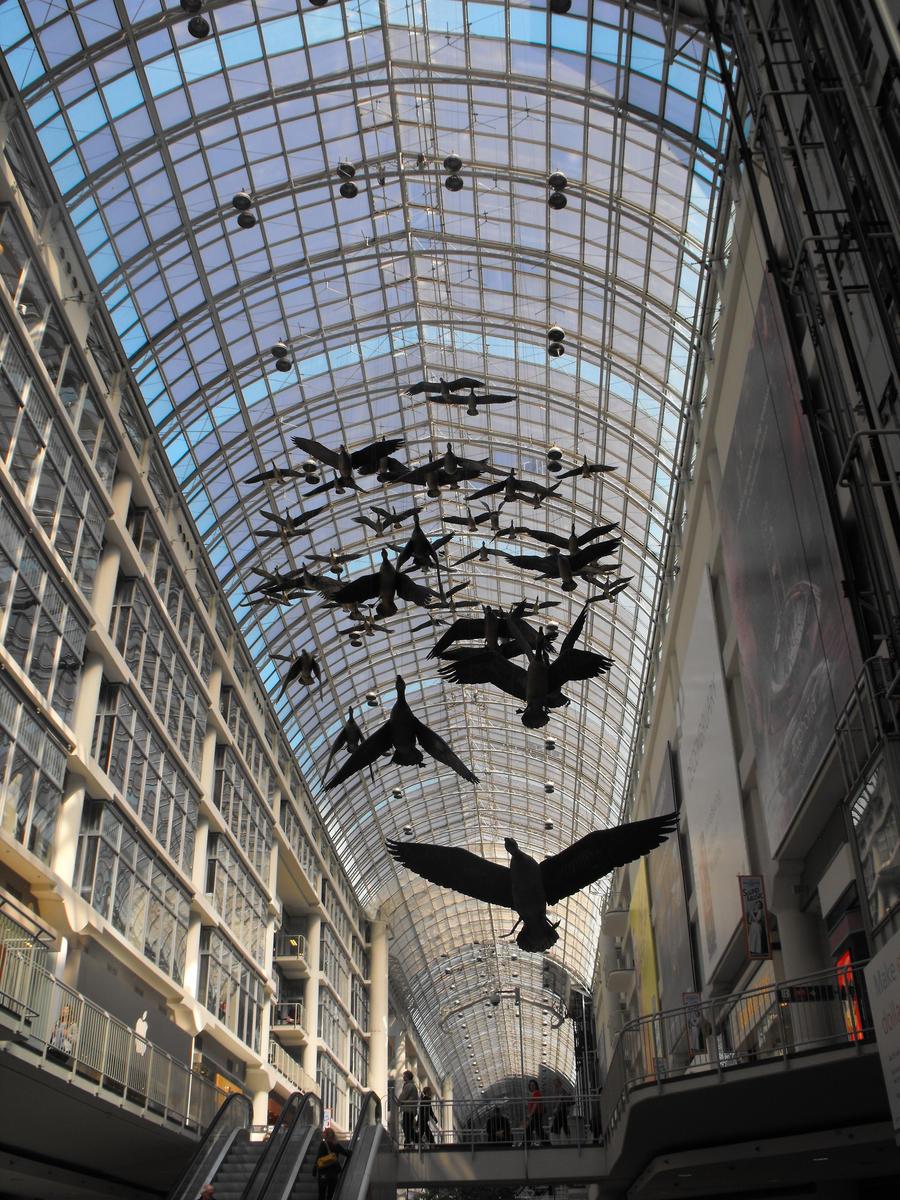 Toronto Eaton Centre birds