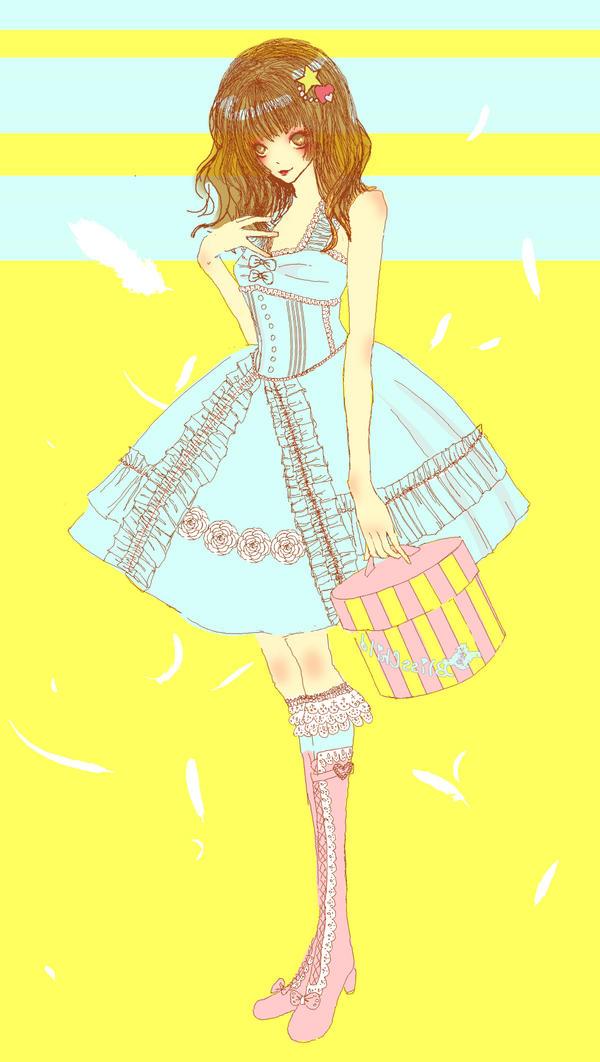 hatbox lolita by eternityras