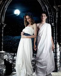 Artemis and Apollo by Inwe1