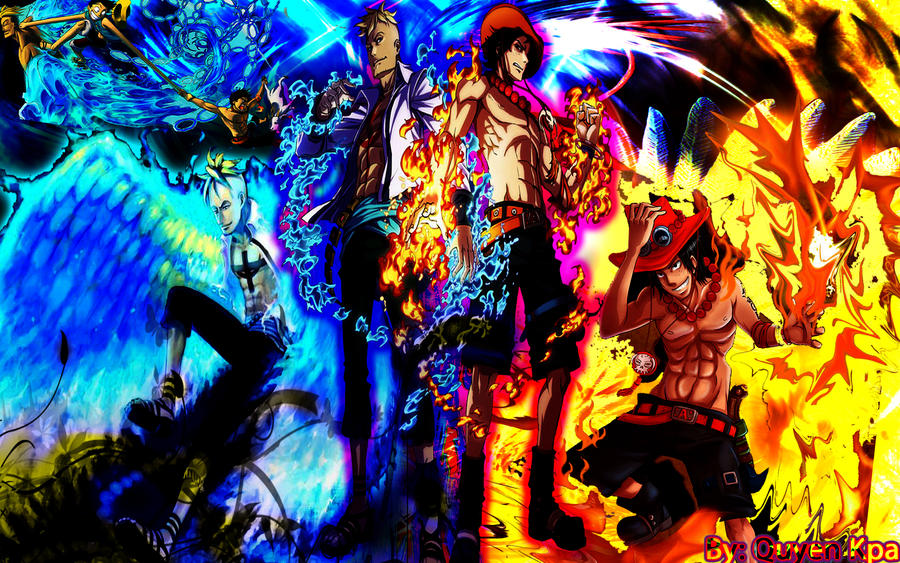 Ace Marco The Phoenix One Piece Anime Portgas D Toinic Wallpaper ...