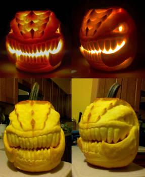 Zergling Pumpkin