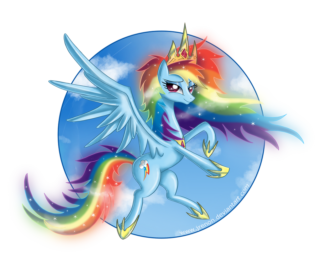 Princess Rainbow Dash - II by Jrenon on DeviantArt