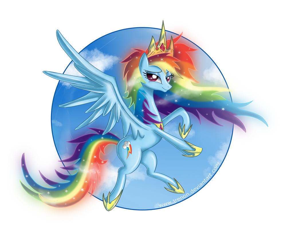 Princess Rainbow Dash - II by Jrenon