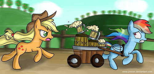 The Cider Chase by Jrenon
