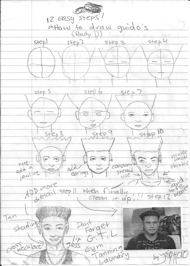 How To Draw A Guido Pauly D By Chickle6