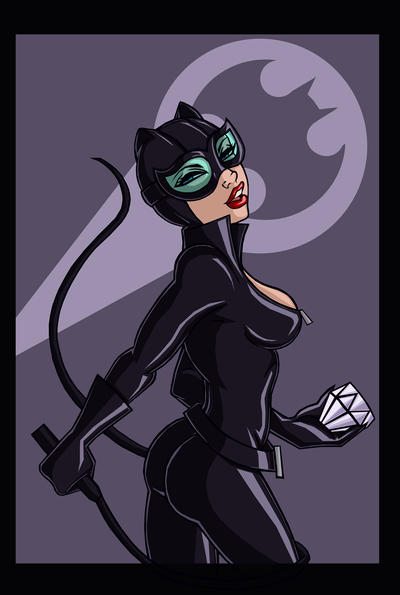 Catwoman by ebony-chan