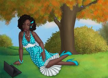 Fall time beauty by ebony-chan