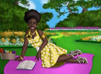 Summer Breeze beauty commission by ebony-chan