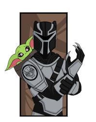 Baby Yoda's new protection