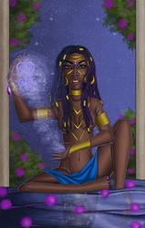 Beautiful-goddess by ebony-chan