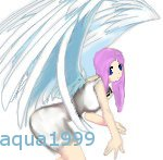 Kelly as an Angel by aqua1999