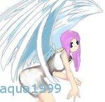 Kelly as an Angel by aqua1999