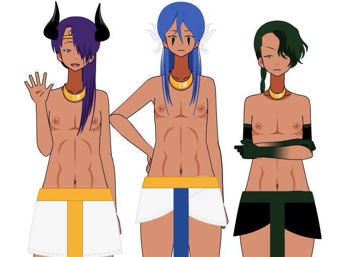 Ra,Apep and Hathor by Reelsteal