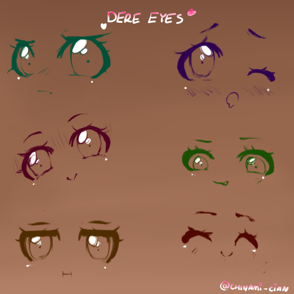 Dere eyes by Chinami-cian on DeviantArt