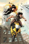 Jubilee and Wolverine