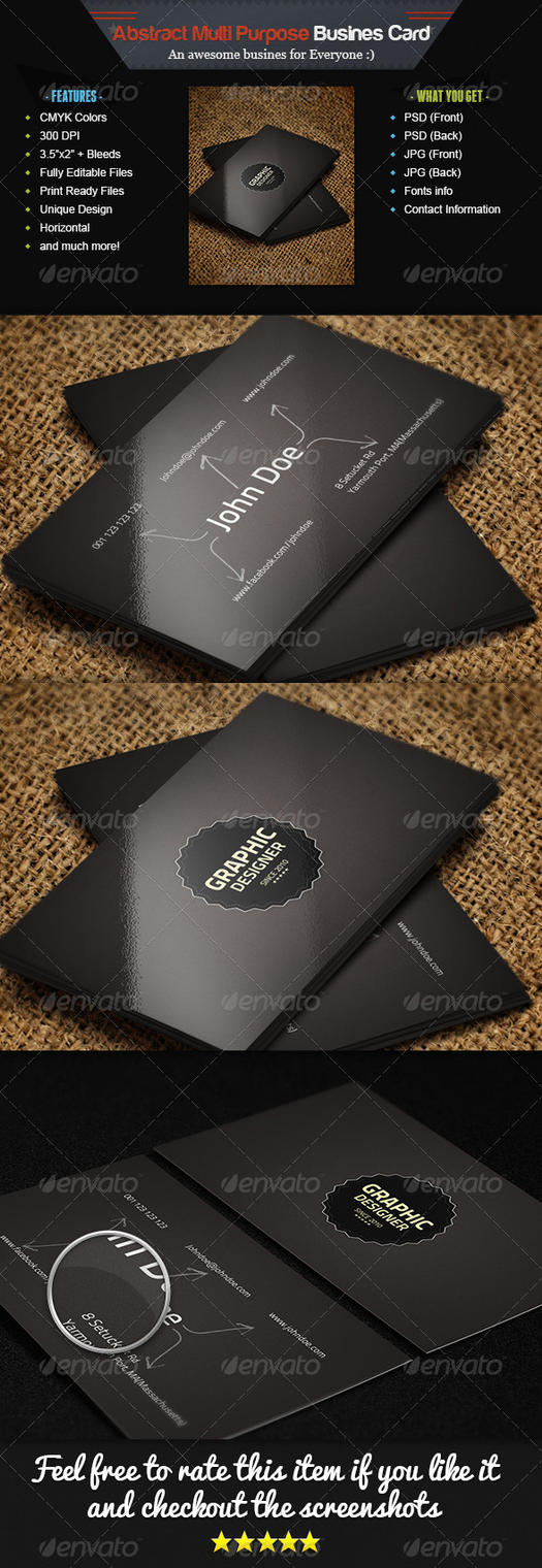 Business Card Advertising