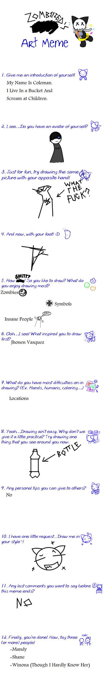 Zombified's Art meme by zOmBiEfIeD-4-LiFe
