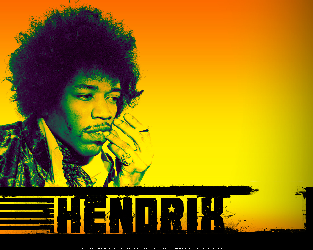 Jimi hendrix by anthony g on deviantart jimi hendrix by anthony g altavistaventures Images