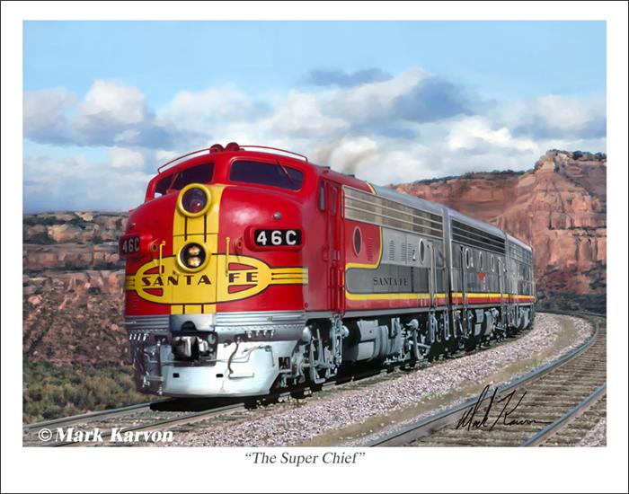 The Super Chief by markkarvon