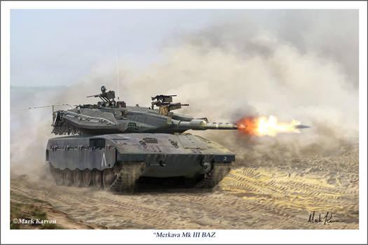 Merkava Mk III BAZ