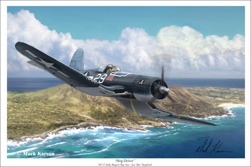 Kepford's Corsair by markkarvon