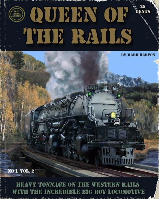 Queen Of The Rails by markkarvon