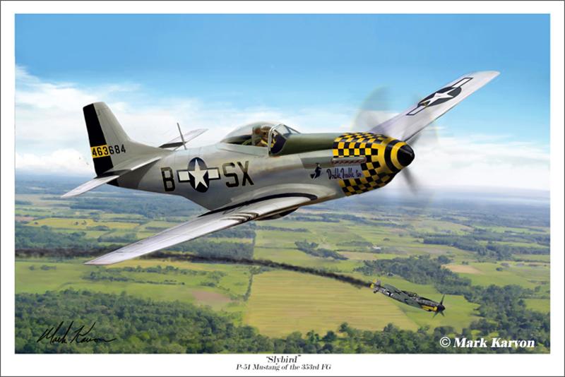 P 51 Mustang Art P-51 Mustang of the 35...