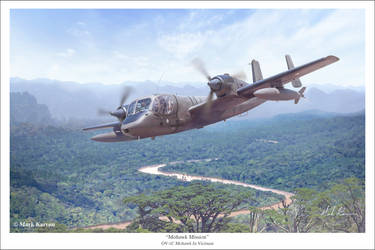 Mohawk Mission by markkarvon