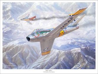 MiG Alley by markkarvon