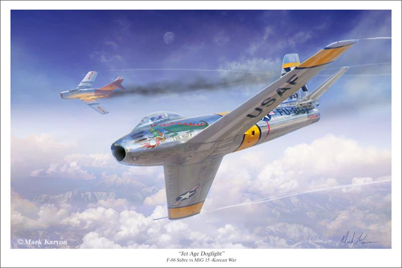 Jet Age Dogfight by markkarvon