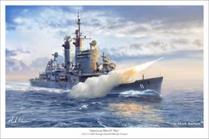 American Man O' War by markkarvon