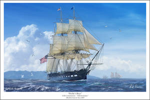 Preble's Boys - USS Constitution by markkarvon