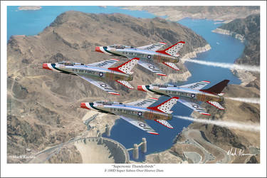 Supersonic Thunderbirds by markkarvon