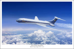 Trans-Atlantic Speedbird by markkarvon