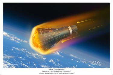 A Real Fireball Outside by markkarvon