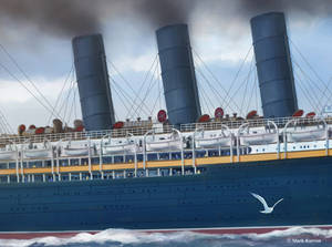 Lusitania Detail