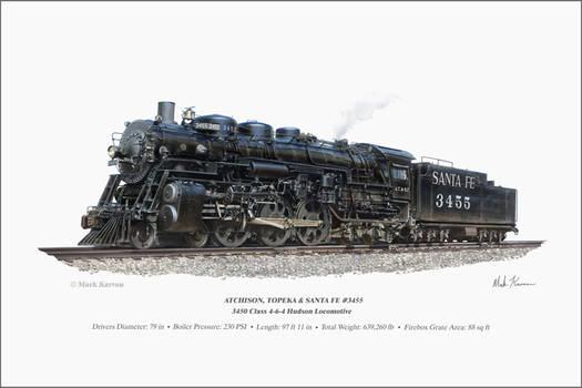 ATSF 3455