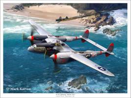 P-38 Lightning Battle Axe 2 by markkarvon