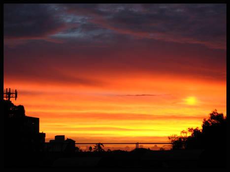 Sunset over Newtown 2