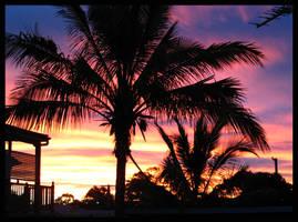 Sunset in Wynnum 1
