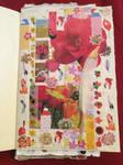 Orange Tulips. Collage #12 by 3u3a