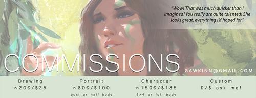 Commission Info by GawkInn